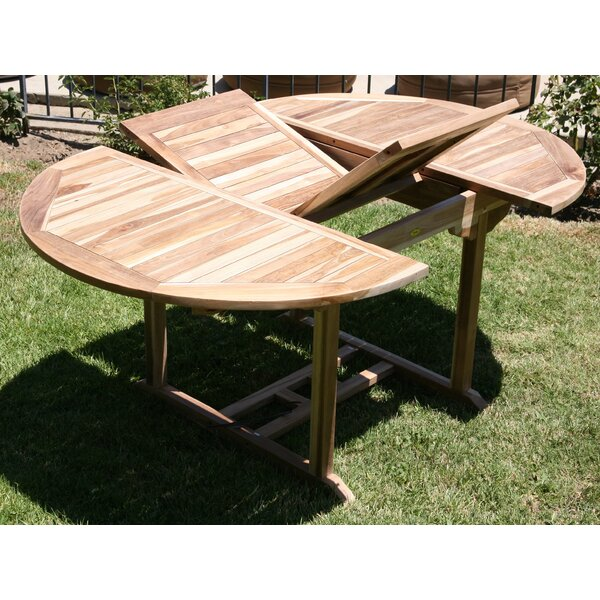 Waterford Extendable Teak Dining Table by Trijaya Living