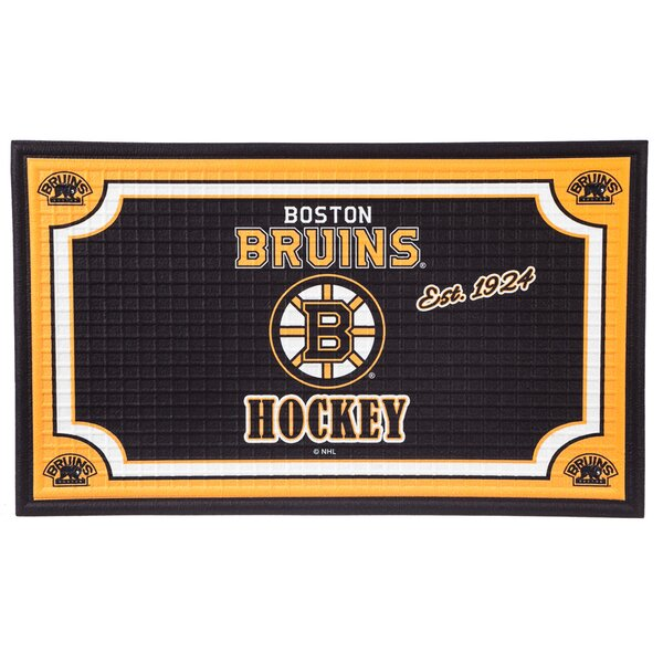 NHL Embossed Doormat by Evergreen Enterprises, Inc