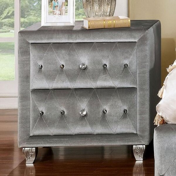 Weathersby 2 Drawer Nightstand by Rosdorf Park