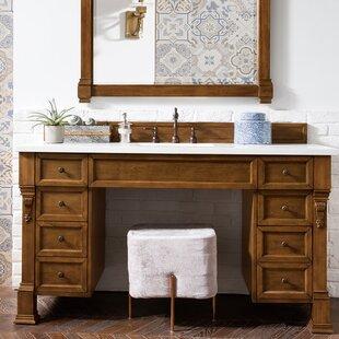 """Bedrock 60"""" Single Bathroom Vanity Set"""