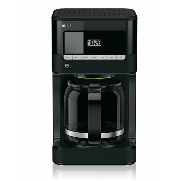 BrewSense 12 Cup Drip Coffee Maker by Braun
