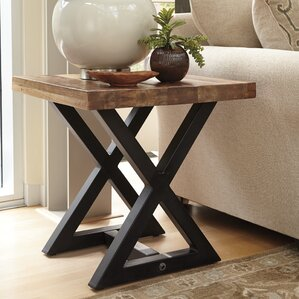 Vivier End Table by Laurel Foundry Modern Farmhouse