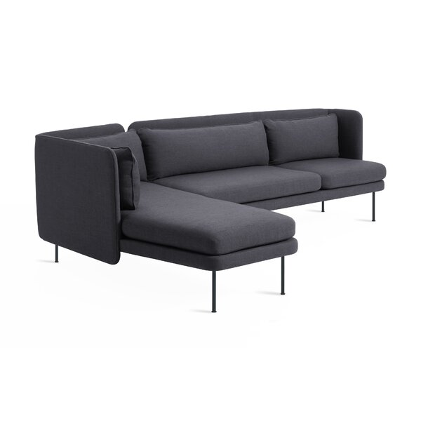 Bloke Sofa with Left Arm Chaise by Blu Dot
