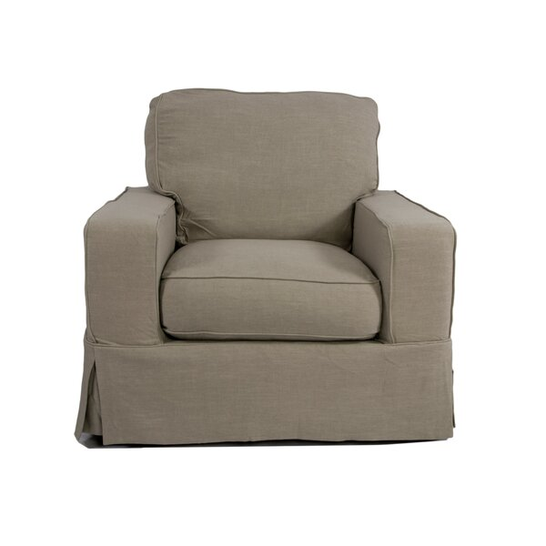 Columbus Armchair Slipcover by August Grove