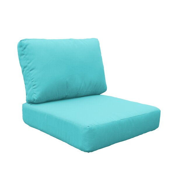 Miami Outdoor Lounge Chair Cushion by TK Classics TK Classics