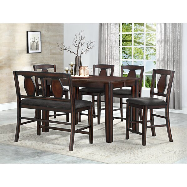Canady 6 Piece Pub Table Set by Darby Home Co