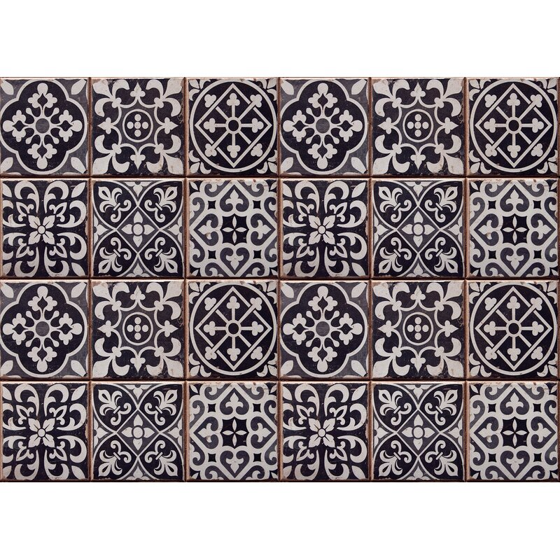 WallPops! Tiles Azulejos Kitchen Panel Wall Decal | Wayfair