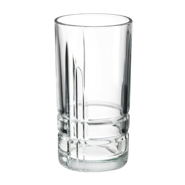 Subedi Cooler 16oz. Glass Every Day Glasses (Set of 4) by Orren Ellis
