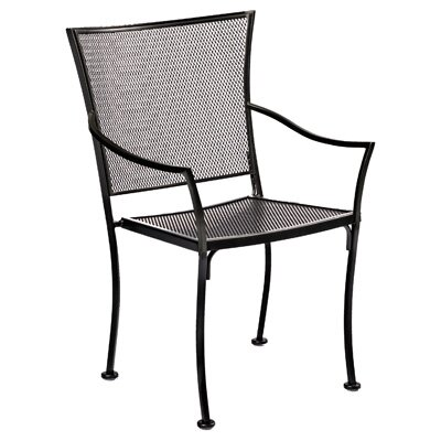 Amelie Bistro Stacking Patio Dining Chair by Woodard