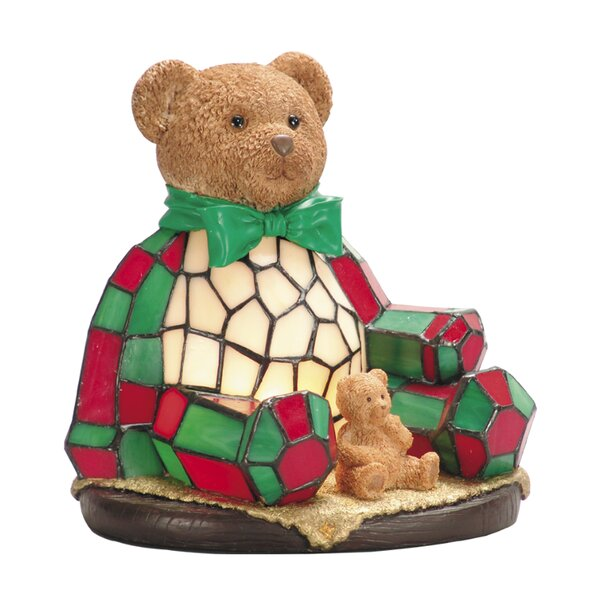 Noel Bear Night Table Lamp by The Holiday Aisle