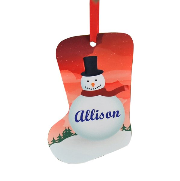 Personalized Christmas Stocking Ornament by Monogramonline Inc.