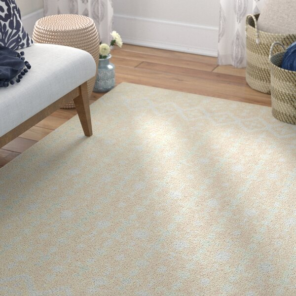 Mateo Ivory Area Rug by Bungalow Rose
