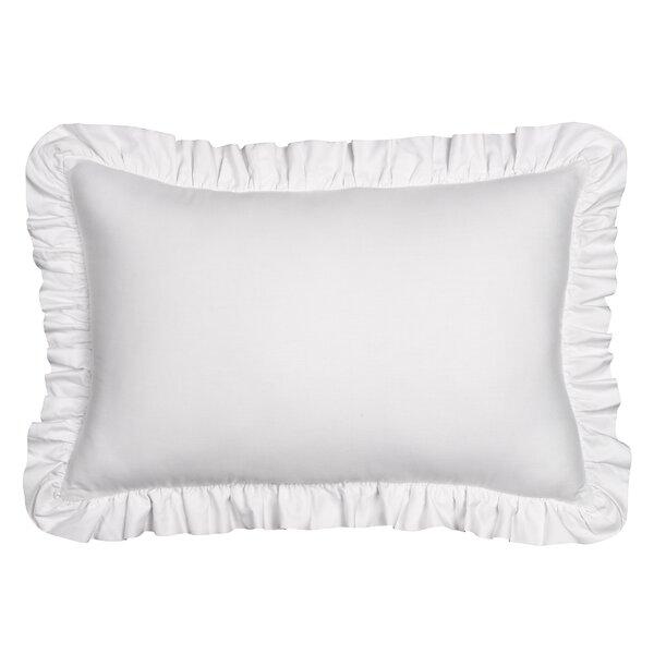 Jauss Ruffle Cotton Throw Pillow by Ophelia & Co.