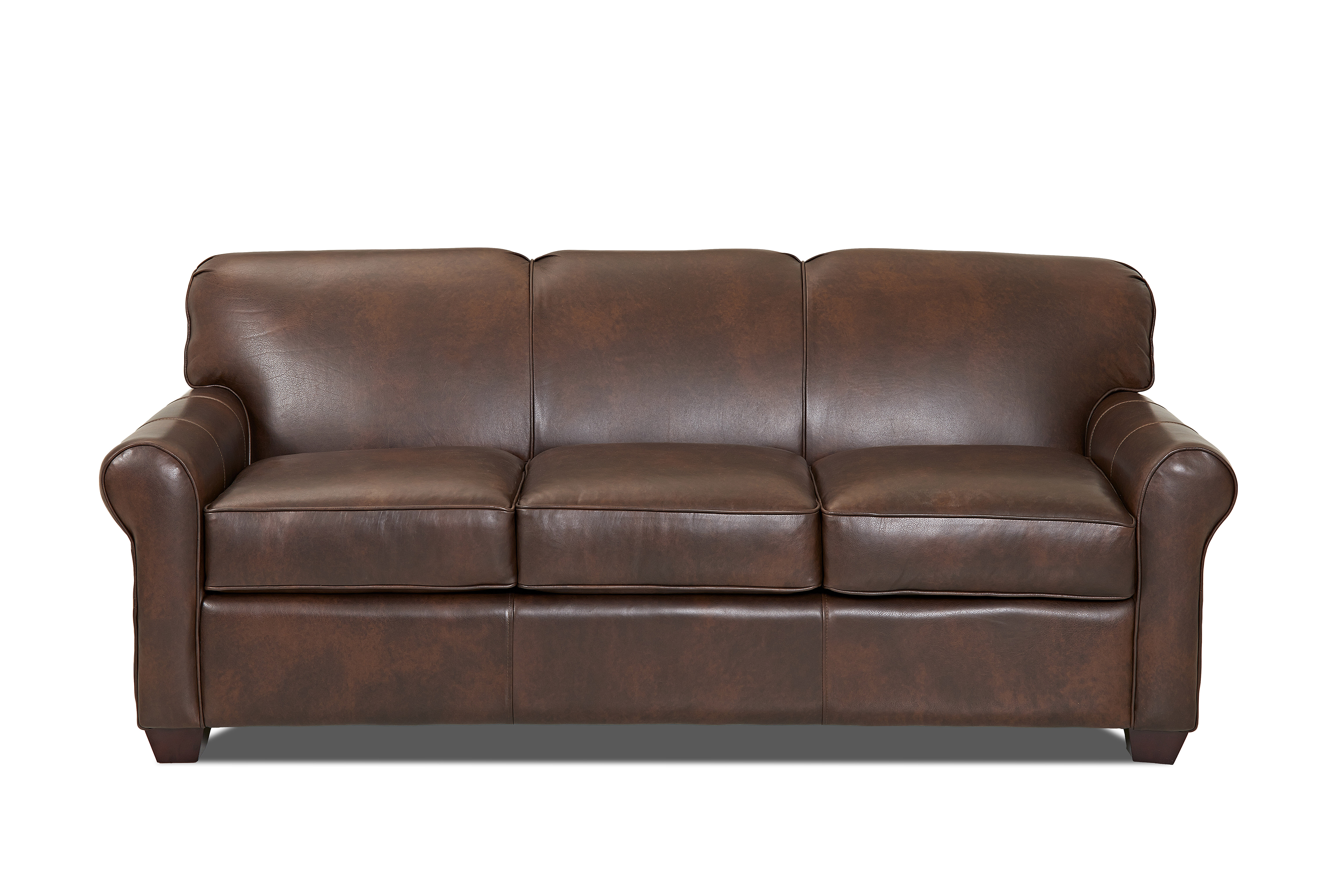 best service 80de5 e735a Jennifer Leather Sofa Bed