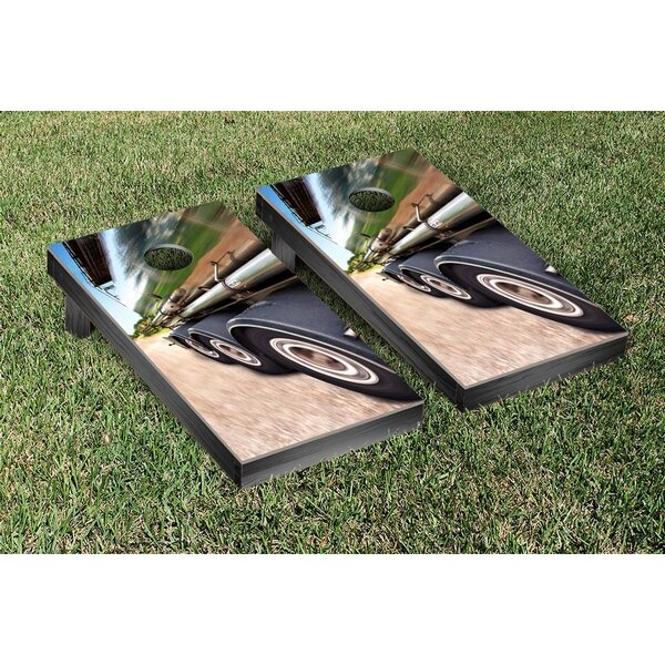 Big Rig Cruising Cornhole Game Set by Victory Tailgate