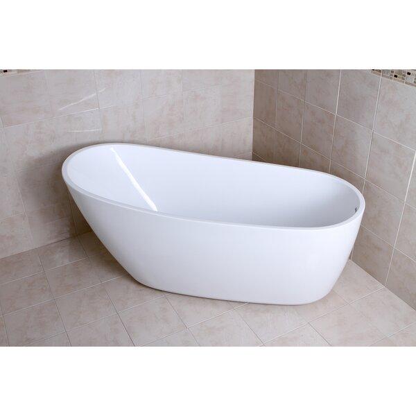 Aqua Eden 68.13 x 30.5 Soaking Bathtub by Kingston Brass