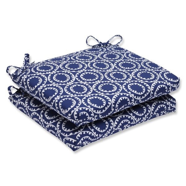 Averie Indoor/Outdoor Dining Chair Cushion (Set of 2) by Highland Dunes