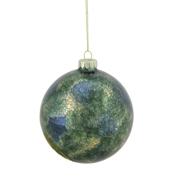 The Holiday Aisle Mercury Glass Christmas Ball Ornament Wayfair