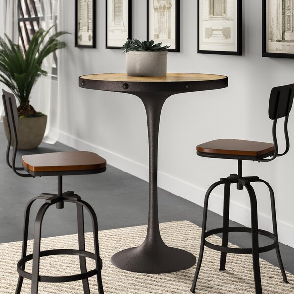 Altavista Wood Pub Table by Greyleigh