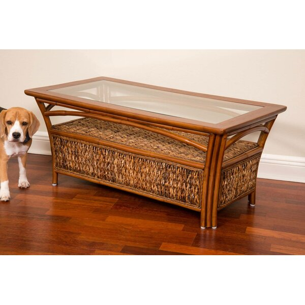 Huffman Coffee Table With Storage By Bay Isle Home