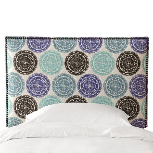 Agne Upholstered Panel Headboard by Latitude Run