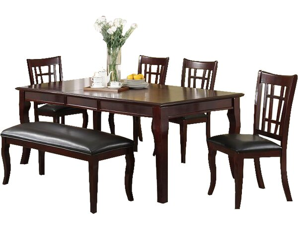 Hawk Haven 6 Piece Extendable Dining Set by Red Barrel Studio