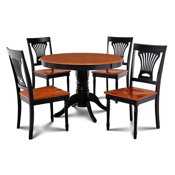 Cedarville Contemporary 5 Piece Dining Set by Alcott Hill