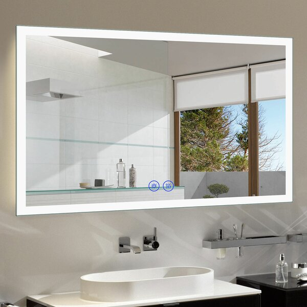 Alleffra Lighted Bathroom/Vanity Mirror