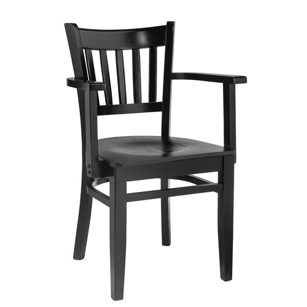 Smethwick Vertical Solid Wood Dining Chair by Charlton Home