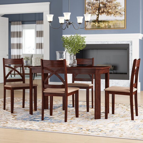 Abigail 5 Piece Dining Set by Andover Mills Andover Mills