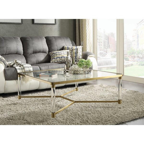 Garzon Coffee Table by Everly Quinn