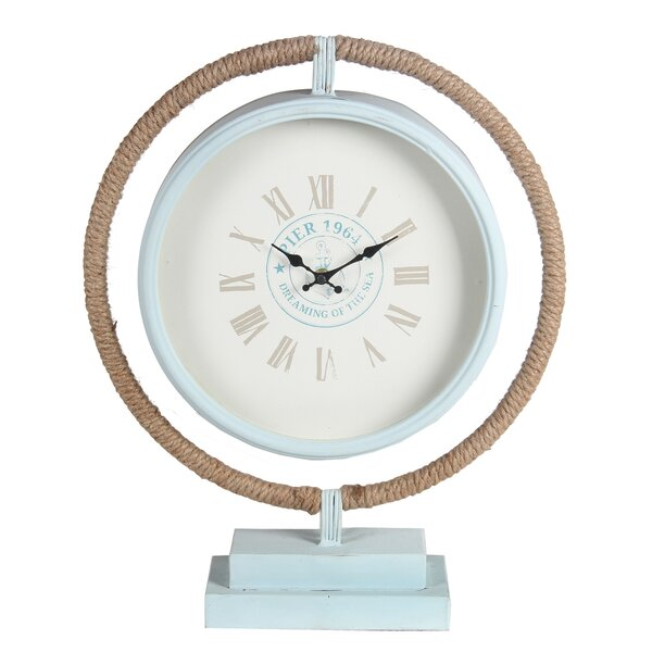 Tabletop Clock by Rosecliff Heights