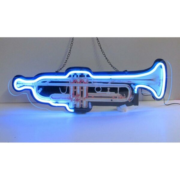 Trumpet Neon Sign by Neonetics