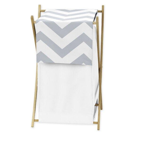 Chevron Laundry Hamper by Sweet Jojo Designs