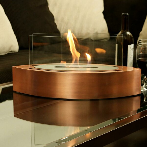 Barco Ventless Tabletop Bio-Ethanol Tabletop Fireplace by Wildon Home ®
