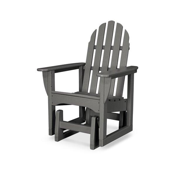 Classic Adirondack Plastic Glider Adirondack Chair by POLYWOOD POLYWOOD®