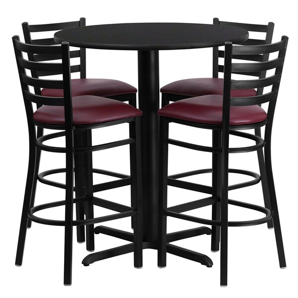 Wen 5 Piece Pub Table Set by Red Barrel Studio