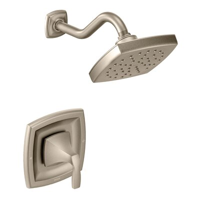 Shower Faucet Handle Brushed Nickel photo