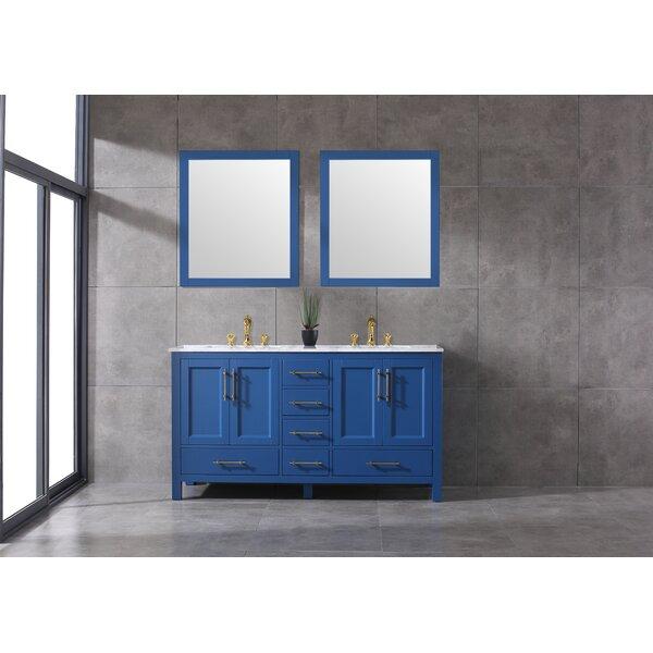 Lam 72 Double Bathroom Vanity Set