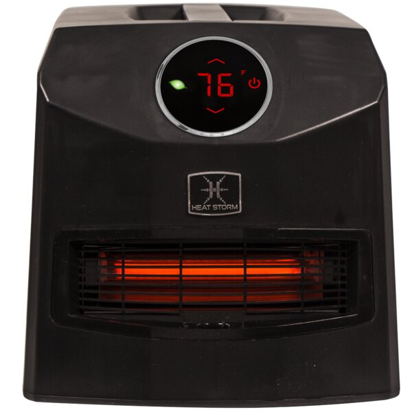 Mojave Ultra Portable 1,500 Watt Electric Infrared Cabinet Heater by Heat Storm