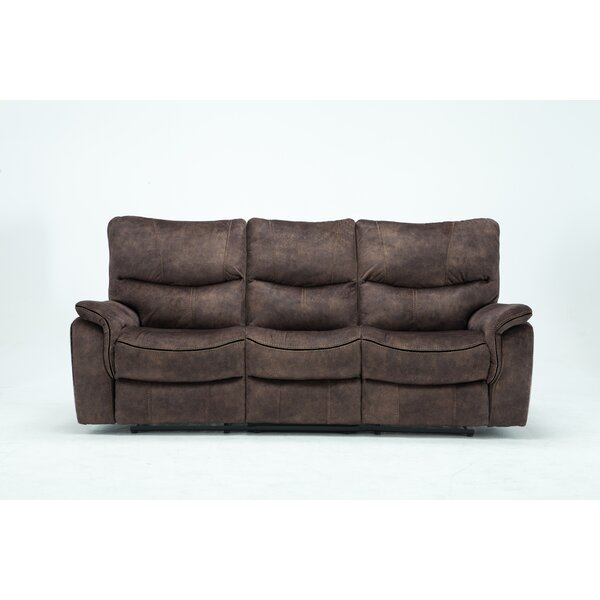 On Sale Palu Reclining Sofa by Loon Peak by Loon Peak