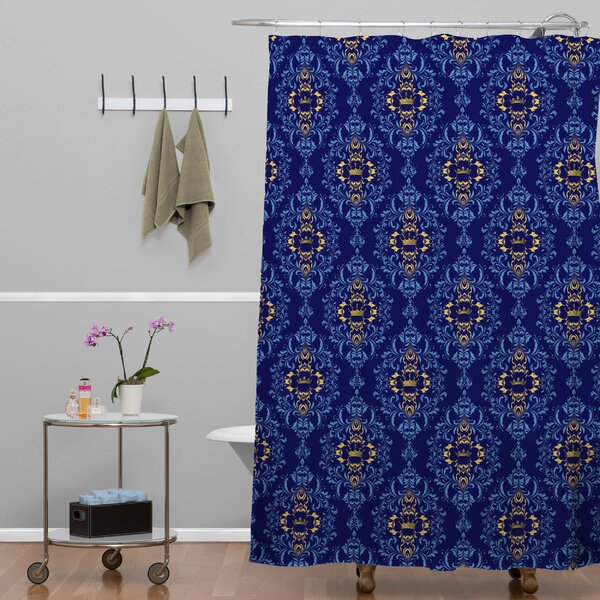 Silkeborg Shower Curtain by Bungalow Rose
