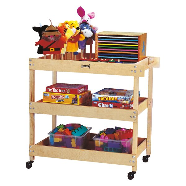 Teaching Cart with Bins by Jonti-Craft