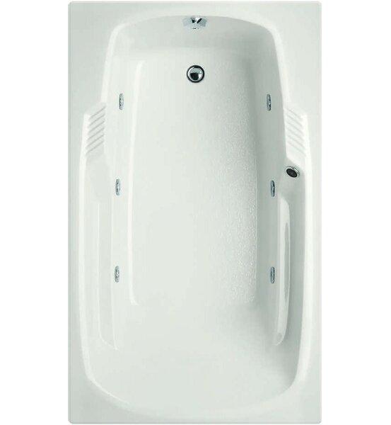 Designer Isabella 72 x 36 Whirlpool Bathtub by Hydro Systems