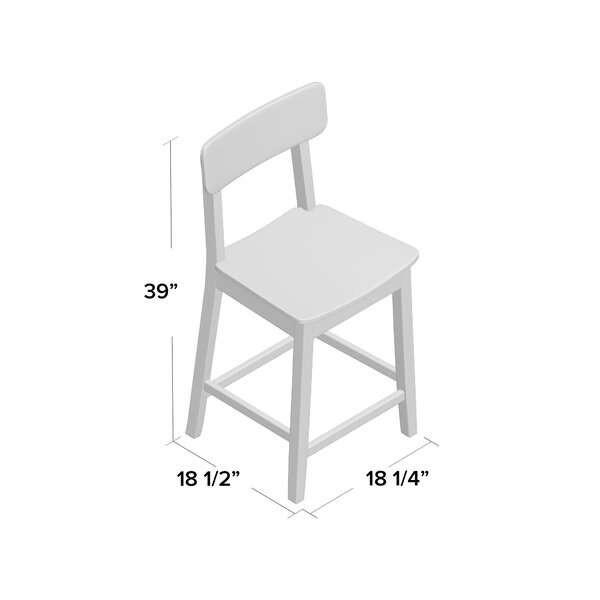 Worcester Bar & Counter Stool by Beachcrest Home