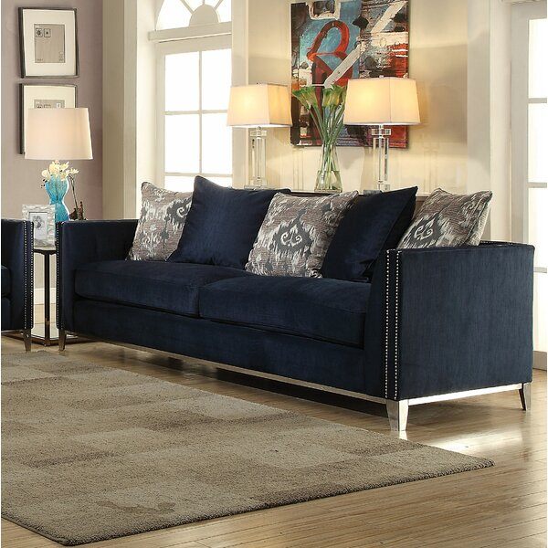 Famous Brands Stokes Sofa by Everly Quinn by Everly Quinn