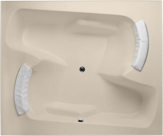 Designer Penthouse 72 x 60 Soaking Bathtub by Hydro Systems