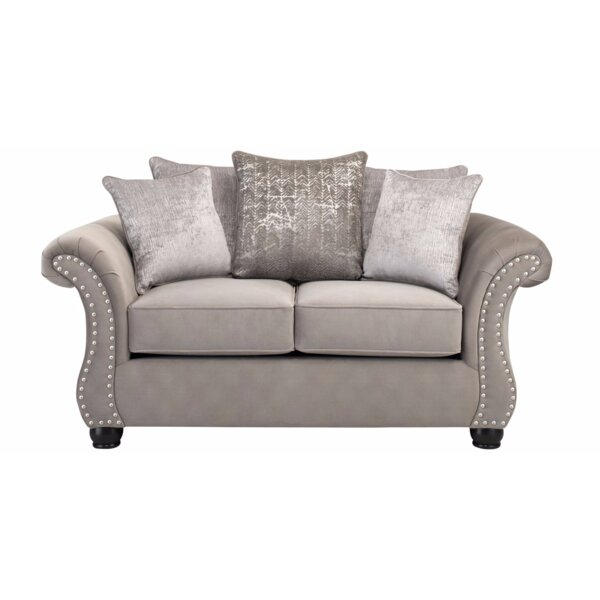 Bedingfield Contemporary Loveseat by House of Hampton