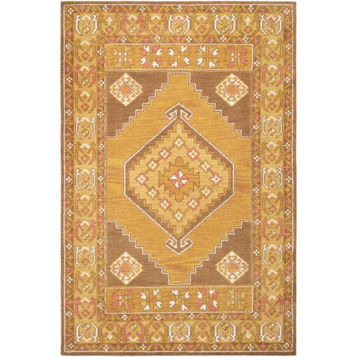 Robbins Ivory/Taupe Area Rug by Bloomsbury Market