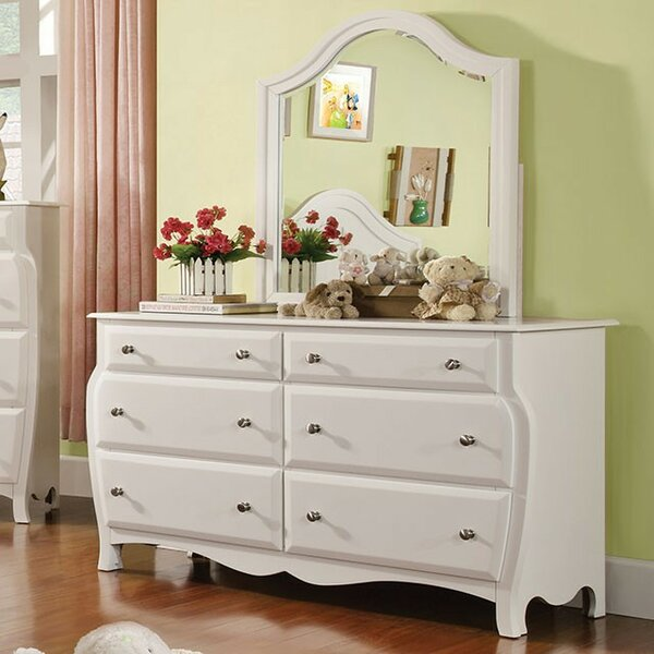 Salyer 6 Drawer Double Dresser by Harriet Bee